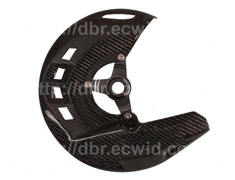 CARBON FIBER FRONT BRAKE DISC ROTOR GUARD COVER PROTECTOR FOR KTM
